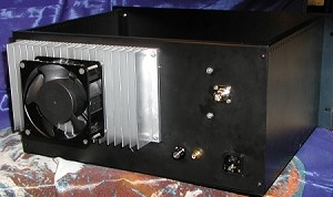 350 Watt Transmitter in Rack Mount Enclosure